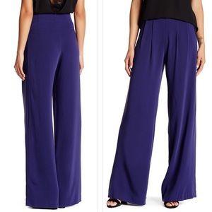 Wide leg pants trouser Parker $255 Blue steel